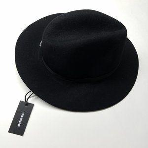 DIESEL Wool Canye Hat - Black - New